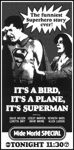 It's A Bird... It's A Plane... It's Superman!