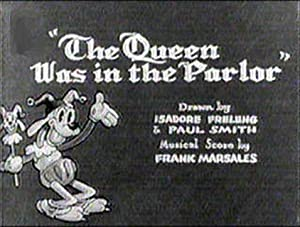 The Queen Was In The Parlor