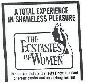 The Ecstasies Of Women