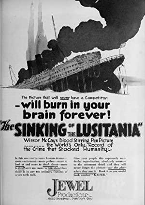 The Sinking Of The 'lusitania'