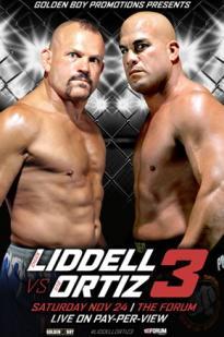 Golden Boy Promotions Liddell Vs. Ortiz 3