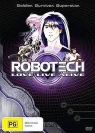Robotech: Love Live Alive (dub)