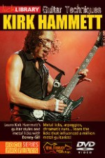Lick Library - Learn Guitar Techniques Metal Kirk Hammett Style