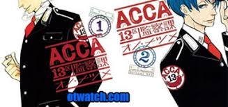 Acca: 13-ku Kansatsu-ka (dub)