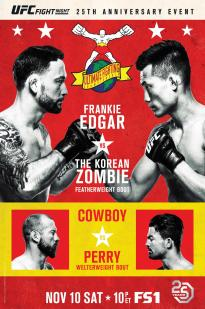 Ufc Fight Night Korean Zombie Vs. Rodriguez